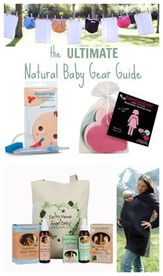 The Ultimate Natural #BabyGear Guide: Crunchy Mom approved