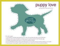Anna Maria Horner: Puppy love
