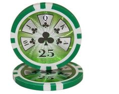 Lot of 25 $25 Hi Roller 14 Gram #Poker Chips Low / Free Shipping Options