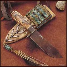 Hudson Bay Knife by Mike Mann. Sheath by Wild Rose Trade Co.  Wow -- there's Idaho Knife Works, & then there's Mike Mann...