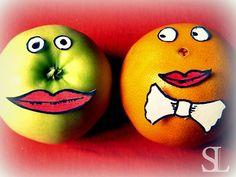 Freche Früchtchen - Apfel und Orange