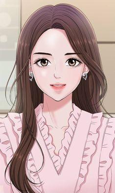 Cartoon Girl Images, Girl Cartoon, Cartoon Art, Anime Drawings Sketches, Cute Drawings, Kawaii Anime Girl, Anime Art Girl, Pretty Art, Cute Art