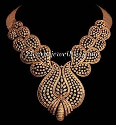 Anmol Jewellers Heavy Bridal Diamond Sets | Jewellery Designs