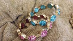 Stackable bracelets..... One of Oprah's faves....