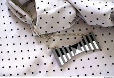 Collana fiocco geometrico - Giusi Alghisio - fiocco geometrico