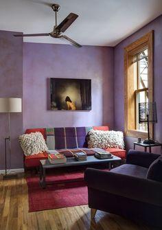 Apartamento Alison Aldrich (Foto: Bruce Buck / The New York Times)