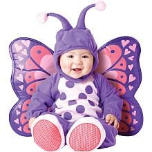 Itty Bitty Butterfly Halloween Costume - Infant Size 12 Months - For Baby Girl