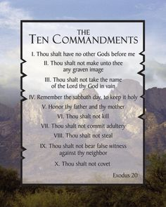 10 Commandments List, listed 2 times in the Bible, Exodus Deuteronomy Ten Commandments are the covenant. Happy Sabbath, Sabbath Day, Seventh Day Adventist, 10 Commandments, Faith Prayer, Favorite Bible Verses, Love The Lord, Way Of Life, Word Of God