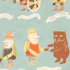 Alexander Henry House Designer - The Vikings - The Vikings in Slate