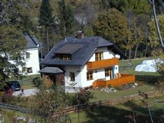 panorama holiday house in Mauterndorf near Obertauern -near the mountain railway Living Styles, Rental Apartments, Ideal Home, Condo, Cabin, Vacation, Explore, House Styles, Austria