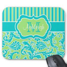 >>>Cheap Price Guarantee          Blue Green White Striped Damask Monogram Mousepad           Blue Green White Striped Damask Monogram Mousepad we are given they also recommend where is the best to buyThis Deals          Blue Green White Striped Damask Monogram Mousepad Review from Associat...Cleck Hot Deals >>> http://www.zazzle.com/blue_green_white_striped_damask_monogram_mousepad-144048596113040711?rf=238627982471231924&zbar=1&tc=terrest