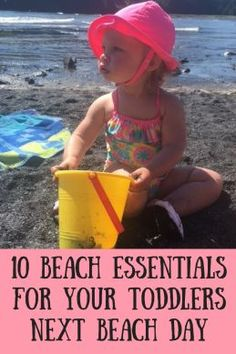 10 Beach Essentials for Your Toddlers Next Beach Day - Anchored Mommy  e630e1149611