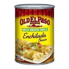 Old El Paso Mild Green Chile Enchilada Sauce has a wonderful flavor.