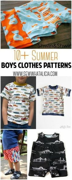 10+ Summer Boys Clothes Tutorials