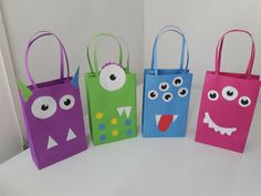 Reusable Tote Bags, Monsters, Hipster Stuff