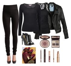 """""""Untitled #759"""" by sweet-ace-of-hearts ❤ liked on Polyvore featuring Pieces, Phase Eight, Tom Ford and Charlotte Tilbury"""
