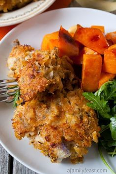 Oven-Fried Rosemary Chicken