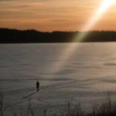 ..God's spotlight! #outforawalk #frozenlake #light #finland #läppträsk #lakeläpp #lake #spotlight #god #sunlight #nature #sun #instalike #photooftheday #instapic #weareinfinland #raseborg #ice #snow #vinter #winter #winterwalk #holymoly #sunbeam #beamoflight #instalight #foto #nofilter #instaphoto #beammeup
