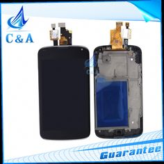 425.00$  Buy here - http://aliuq9.worldwells.pw/go.php?t=32474981181 - 10 pcs DHL EMS Replacement Parts for LG Nexus 4 E960 LCD Display Screen with Touch Digitizer with Frame