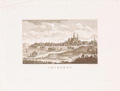 Daniël Veelwaard (I) | Gezicht op Chartres, Daniël Veelwaard (I), 1776 - 1851 |