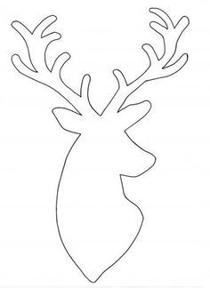 Thread picture with deer motif do VBS hobby yourself - Stencil thread picture d. - Thread picture with deer motif do VBS hobby yourself – Stencil thread picture deer – - String Art Templates, String Art Patterns, String Art Diy, Wood Crafts, Diy And Crafts, Christmas Crafts, Christmas Decorations, Christmas Ornaments, Diy Hanging Shelves