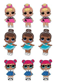 Dani Ferrari: Tiaras L.L Datei zum Ausdrucken - lazos-cintillos-flores - Lol Doll Cake, Doll Birthday Cake, Cartoon Clip, 6th Birthday Parties, Lol Dolls, Little Pony, Ferrari, Paper Dolls, Hippie Art