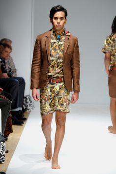 Menswear Collective- Runway - Mercedes-Benz Fashion Week Spring 2015