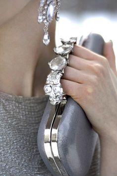 Dripping in diamonds!