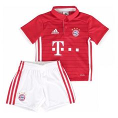 1055ec5e5 Bayern Munich adidas Toddler Home Mini Kit - Red White