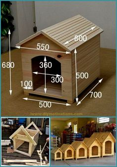 Pallet wood is one of the most popular recycling items, if you are someone who loves to transform the items, then it's time to take out the pallet wood and make something best out of them. It is the heartiest desire of every individual to renovate th Diy Pallet Furniture, Diy Pallet Projects, Wood Projects, Pallet Dog House, Dog House Plans, Diy Planter Box, Wooden Pallets, Pallet Wood, Wooden Rack