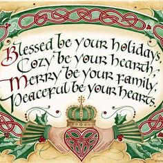 Merry Yule ❤️ Wishing everyone Love , Peace & Happiness ❤️ Noel Christmas, Christmas Quotes, All Things Christmas, Vintage Christmas, Christmas Crafts, Celtic Christmas, Christmas Blessings, Christmas Greetings, Irish Greetings