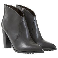 Buy Mint Velvet Elsie Leather/Suede Boots Online at johnlewis.com