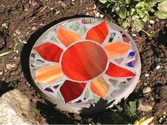 How to Make a Stained Glass Stepping Stone   Easy Crafts and Homemade Decorating & Gift Ideas   HGTV