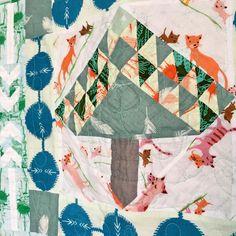 74 Likes, 4 Comments - lotje meijknecht Medallion Quilt, Quilt Labels, Lawn, Tech, Quilts, Silk, Blanket, Cotton, Instagram