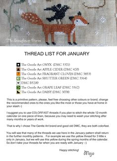 The Snowflower Diaries: JOYFUL WORLD SAL - JANUARY PATTERN - free cross stitch calendar SAL