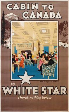 White Star Line ~ Gordon Nicoll