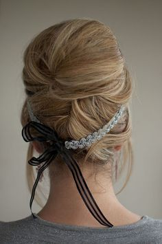 I like the bow idea, but a but smaller maybe...