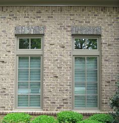 Brick makes regular features shine. Walking soldier courses, simulated clinkers and rowlock water tables make windows pop. http://insistonbrick.com/