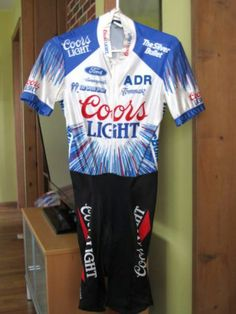06174d29c Greg Lemond s 1989 Coor s Light jersey on eBay. Worn in the 1989 Coor s  Light Duathlon