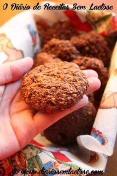 O Diário de Receitas Sem Lactose: Cookies de Cacau Sem Lactose, Sem Glúten, Sem Soja