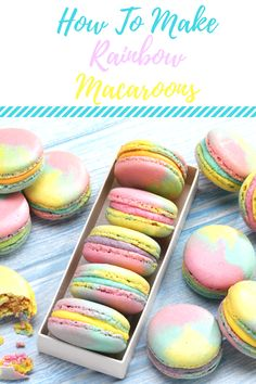 How To Make Rainbow Macaroons... | ¡ Wasn't Expecting That !