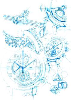 watch sketches #design #sketches #draw #montre #designer