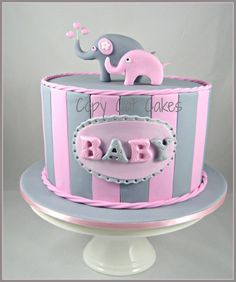 Baby Shower Cake by Copy Cat Cakes, Rozelle, New South Wales, Australia. You'll find this Cake Appreciation Society Member in our Directory at www.cakeappreciationsociety.com