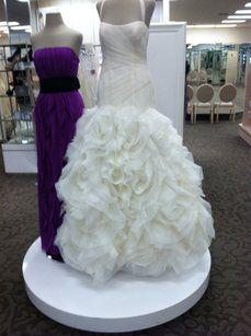 Vera Wang White For David's Bridal Vera Wang White Fit And Flare Wedding Dress