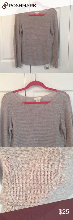 St Tropez Top Blouse Linen Sweater M St Tropez Top Blouse Linen Sweater M Great Condition St. Tropez Sweaters Crew & Scoop Necks