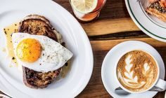 Fancy Grilled Cheese with a Fried Egg Recipe