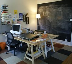 Face-to-face two-person office
