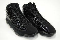 (eBay Sponsored) [414571 012] NEW MEN'S AIR JORDAN 13 RETRO CAP & GOWN BLACK BLACK JO1440 Jordan Retro 13 Black, Retro 9, Cap And Gown, Jordan 13, Nike Air Jordans, Sneaker Brands, New Man, All Black Sneakers, Mens Fashion