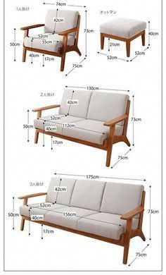 Scandinavian Design Fashionable Wood Elbow Sofa 【Lulea】 Make a . Try a Recliner Sofa, and You'll Never Go Back. A reclining sofa allows you to relax completely in the most comfortable position, as your legs recline and chair fully supports your back Sofa Furniture, Pallet Furniture, Furniture Projects, Furniture Plans, Furniture Design, Modern Wood Furniture, System Furniture, Outdoor Furniture, Furniture Stores