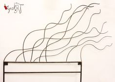 Cabeceros de forja http://virginiart.es Diseños originales en muebles de forja y metal.